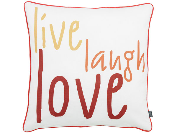 "Kissenbezug Urban Exotic ""live lough love"" von Vestio"