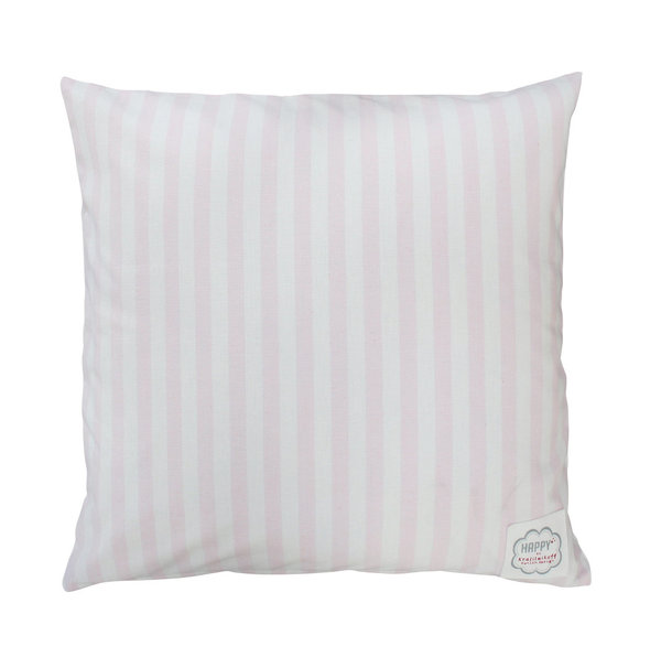 Kissenbezug Cushion cover rosa big Stripes Streifen Krasilnikoff